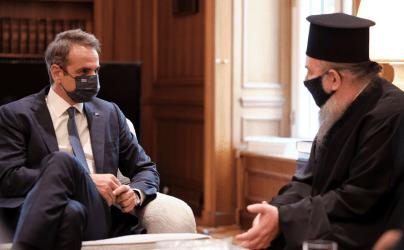 Συνάντηση Πρωθυπουργού τον Μητροπολίτη Ίμβρου και Τενέδου: Συζητήσαμε την κατάσταση της Ελληνικής Μειονότητας