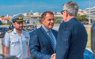 Τζέφρι Πάιατ: «Ανυπομονώ να μιλήσω με τον καλό μου φίλο Νίκο Παναγιωτόπουλο- Η σχέση ΗΠΑ-Ελλάδας φτάνει σε ακόμη μεγαλύτερα ύψη»