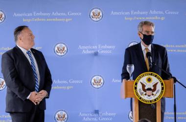 Αντίδραση της Ρωσικής Πρεσβείας στην Αθήνα για την επίσκεψη Πομπέο