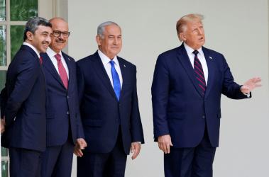 Τραμπ: Η Σαουδική Αραβία θα συμφωνήσει «την κατάλληλη στιγμή» για την αποκατάσταση των σχέσεων της με το Ισραήλ.