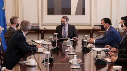 Ελευσίνα – Αλεξανδρούπολη και Καβάλα στο επίκεντρο της συνάντησης του Πρωθυπουργού με κλιμάκιο της U.S. DFC