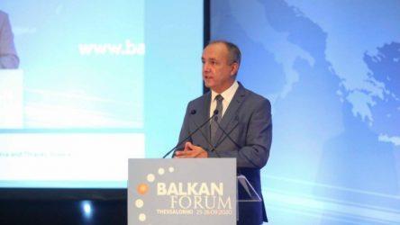 Θεόδωρος Καράογλου: Τα Βαλκάνια μπορούν να γίνουν περιοχή ειρήνης, συνεργασίας και ευημερίας