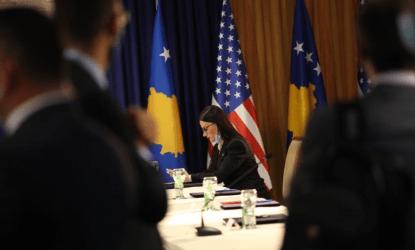 Τηλεδιάσκεψη Νίκου Δένδια με την ΥΠΕΞ του Κοσόβου Μελίζα Χαραντινάι