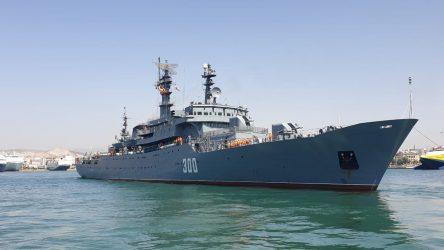 Στο λιμάνι της Θεσσαλονίκης κατέπλευσε το εκπαιδευτικό πλοίο «Smolny» του Ρωσικού Πολεμικού Ναυτικού