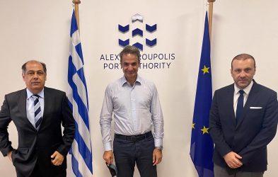 Πρωθυπουργός: Η επένδυση στο λιμάνι της Αλεξανδρούπολης θα το καταστήσει πόλο ανάπτυξης για ολόκληρη τη Θράκη