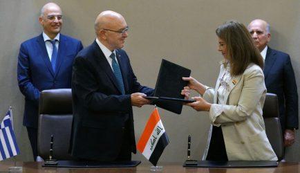 Κωνσταντίνος Φραγκογιάννης: Ενισχύονται οι επιχειρηματικές και οικονομικές σχέσεις Ελλάδας- Ιράκ