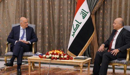 Στο Ιράκ ο Νίκος Δένδιας – Υπογραφή μνημονίων κατανόησης με τον Ιρακινό ομόλογό του