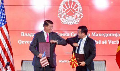 Μετά την Κύπρο και η Βόρεια Μακεδονία υπέγραψε μνημόνιο με τις ΗΠΑ για την ασφάλεια 5G