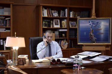 Επικοινωνία Αλκιβιάδη Στεφανή με τον Αναπληρωτή Υφυπουργό Άμυνας των ΗΠΑ Μιχαήλ Κράτσιο