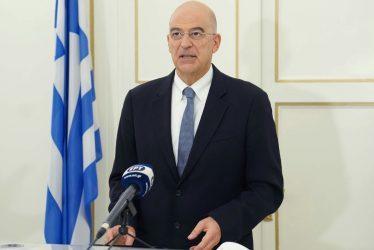 Νίκος Δένδιας: Οι στιγμές επιτάσσουν εθνική ομοψυχία όσον αφορά τα εθνικά μας θέματα