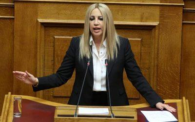 Φώφη Γεννηματά: Η Ελλάδα θα υπερασπιστεί την κυριαρχία και τα κυριαρχικά της δικαιώματα, με κάθε τρόπο