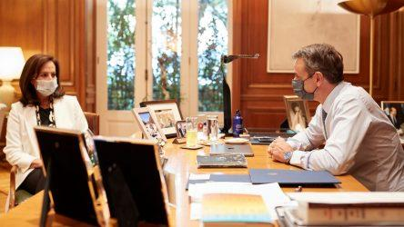 Την Άννα Διαμαντοπούλου προτείνει η κυβέρνηση για την ηγεσία του ΟΟΣΑ