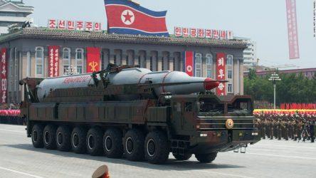 Αξιωματούχος της αμερικανικής κυβέρνησης: «Απογοητευτική» η παρουσίαση διηπειρωτικού βαλλιστικού πυραύλου από την Βόρεια Κορεά