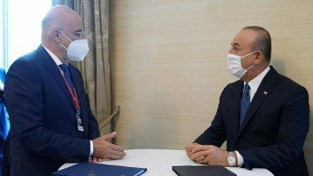 Νίκος Δένδιας: Ελπίζω η Τουρκία να αλλάξει πορεία και να συμβάλλει σε αυτό η σημερινή συνάντηση με τον Τσαβούσολγου