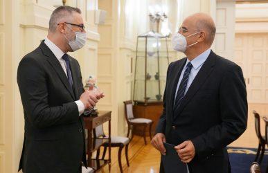 Η Αν. Μεσόγειος στο επίκεντρο της συνάντησης του Νίκου Δένδια με τον πρέσβη της Αυστραλίας