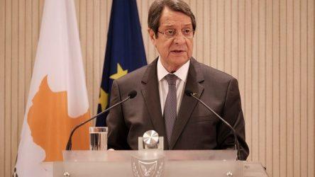 Αναστασιάδης: H Ευρωπαϊκή Ένωση και τα Ηνωμένα Έθνη έχουν ενημερωθεί για τη νέα προκλητική ενέργεια της Τουρκίας