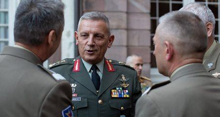 Επικοινωνία του αρχηγού ΓΕΕΘΑ με τον αναπληρωτή διοικητή των Συμμαχικών Δυνάμεων στην Ευρώπη