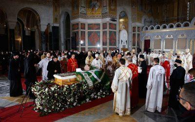Κηδεύτηκε ο Πατριάρχης των Σέρβων Ειρηναίος