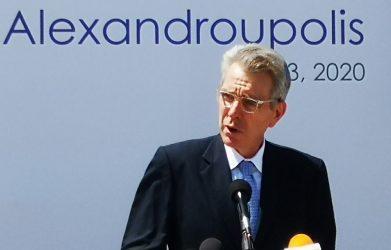 Τζέφρι Πάιατ: Η Ελλάδα αναδείχθηκε σε σημαντικό περιφερειακό κόμβο ενέργειας