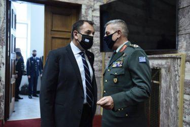 Βουλή: Ενημέρωση του Υπουργού Άμυνας για τα εξοπλιστικά
