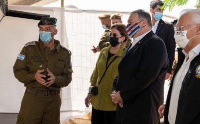Πομπέο: Οι ΗΠΑ θα βάζουν ετικέτα «Made Israel» στις εξαγωγές από την κατεχόμενη Δυτική Όχθη