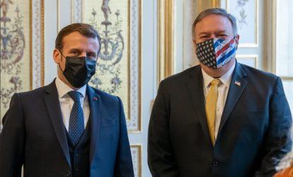 Μάικ Πομπέο: Με τον Γάλλο Πρόεδρο συζητήσαμε την προκλητικότητα της Τουρκίας