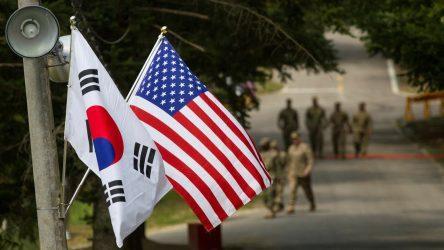Η υπουργός Εξωτερικών της Νότιας Κορέας στις ΗΠΑ για επαφές με Πομπέο και ομάδα του Μπάιντεν