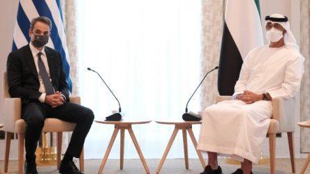 Πρωθυπουργός: Ελλάδα-ΗΑΕ διαμορφώνουν πλαίσιο στρατηγικής συμμαχίας στην οικονομία, την άμυνα και την εξωτερική πολιτική