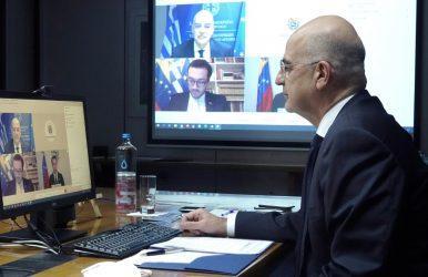 Τηλεδιάσκεψη Υπουργού Εξωτερικών με τον μεταβατικό Πρόεδρο και Πρόεδρο της Εθνοσυνέλευσης της Βενεζουέλας, Χουάν Γκουαϊδό