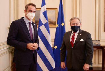 Συνάντηση του Πρωθυπουργού με τον Υπουργό Ενέργειας των ΗΠΑ- Η ενεργειακή συνεργασία Αθήνας – Ουάσιγκτον στο επίκεντρο