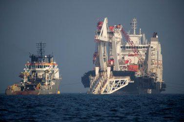 Πιέζεται η Gazprom από την Γερμανία – Συνεχίζει την κατασκευή του Nord Stream-2 με δικά της μέσα