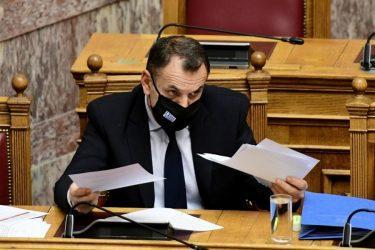 Ο Υπουργός Άμυνας ενημέρωσε την Επιτροπή Εξοπλισμών της Βουλής