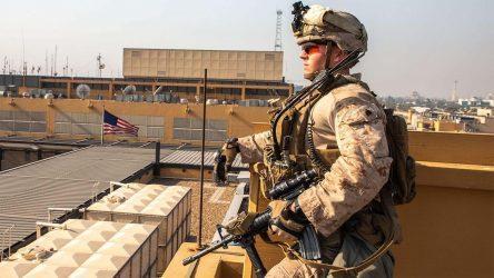 Επίθεση με ρουκέτες κατά της αμερικανικής πρεσβείας στην Βαγδάτη