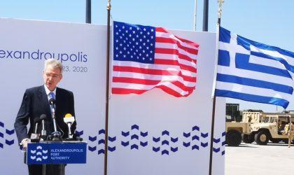 Τζέφρι Πάιατ: Η Πρωτοβουλία των Τριών Θαλασσών ευκαιρία για την Ελλάδα να αξιοποιήσει τη στρατηγική της θέση