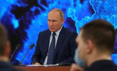 Ο Βλαντίμιρ Πούτιν υπέγραψε νόμο για την παράταση της συνθήκης New START (Strategic Arms Reduction Treaty)