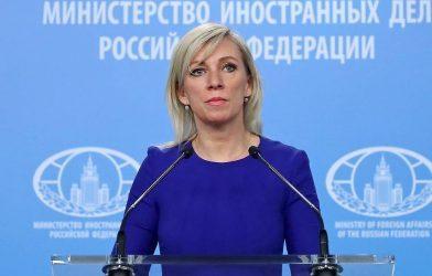 Μαρία Ζαχάροβα: Η νέα κυβέρνηση της Εσθονίας δείχνει πίστη στην Ουάσιγκτον και απελαύνει Ρώσους Διπλωμάτες