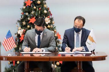 Η Διαχείριση του Ερντογάν από τις ΗΠΑ ξεκινά και στην Κύπρο – Υπογραφή για ενίσχυση της συνεργασίας στη Συνοριακή Ασφάλεια