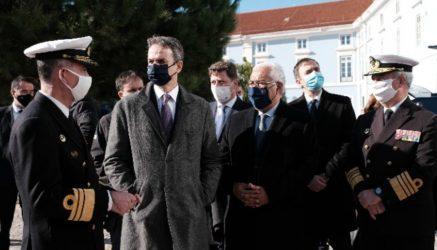 Τη Ναυτική Αστυνομία της Πορτογαλίας επισκέφτηκε ο Πρωθυπουργός στη Λισαβόνα