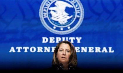 Η Λίσα Μόνακο προσωρινής σύμβουλος εσωτερικής ασφάλειας ενόψει της τελετής ορκωμοσίας Μπάιντεν