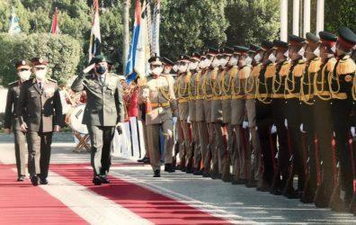 Επίσημη επίσκεψη του αρχηγού ΓΕΕΘΑ Κων.Φλώρου στην Αίγυπτο