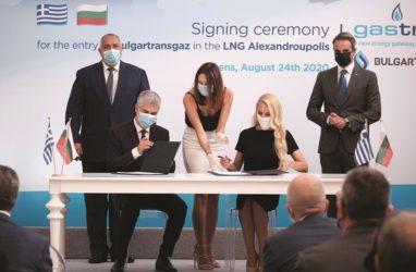 FSRU Αλεξανδρούπολη: Έγκριση για Bulgartransgaz με τον ΔΕΣΦΑ να παίρνει σειρά