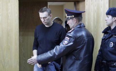 Ρωσία: Η Ομοσπονδιακή Υπηρεσία Φυλακών προτίθεται να συλλάβει τον Ναβάλνι πριν την εκδίκασή του