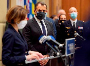 Συμμετοχή του Υπουργού Άμυνας στην τηλεδιάσκεψη για την Υποσαχάρια Αφρική, υπό την Γαλλίδα ΥΠΑΜ Φλωράνς Παρλύ