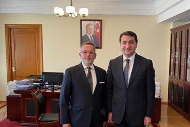 Μπακού: Συνάντηση του Έλληνα Πρέσβη με τον βοηθό του Προέδρου του Αζερμπαϊτζάν