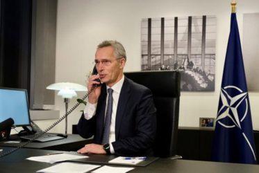 Τηλεφώνημα «επιστροφής» των ΗΠΑ στο ΝΑΤΟ – Επικοινωνία Μπάιντεν με Στόλτεμπεργκ