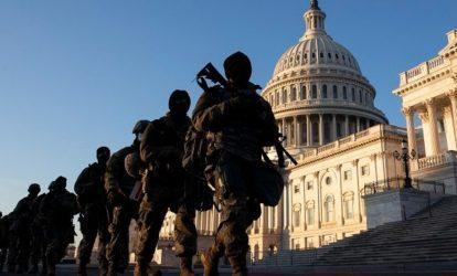 ΗΠΑ: Η Εθνοφρουρά παρακολουθεί στενά επί 24ώρου βάσης το Καπιτώλιο