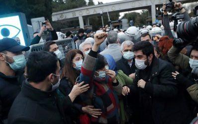 Συνελήφθησαν 159 φοιτητές στην Τουρκία