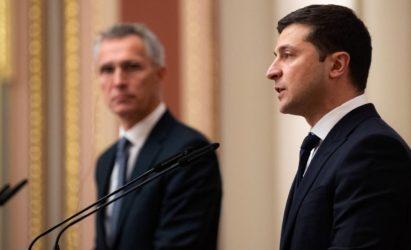 Ζελένσκι: Η «πόρτα του» ΝΑΤΟ για την Ουκρανία είναι ανοιχτή