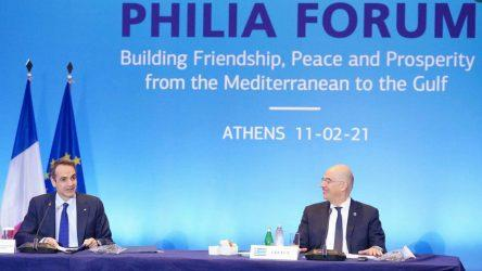 Πρωθυπουργός: Οι χώρες μας συνεργάζονται και δεσμεύονται για την επικράτηση της ειρήνης