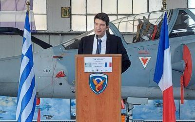 Greek, French Air Forces hold joint exercise off Tanagra air base
